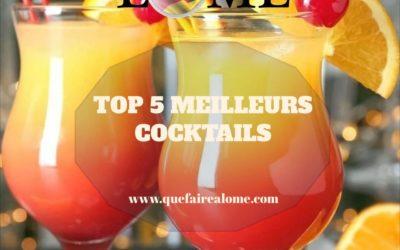 TOP 5 MEILLEURS COCKTAILS