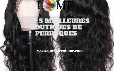 TOP 5 MEILLEURES BOUTIQUES DE PERRUQUES
