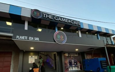 THE GAME AND CAFE
